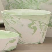 Brayden Studio Indus Serving Bowl (Set of 3); Green