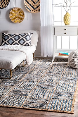 Breakwater Bay North AMonmouth Blue Area Rug; 4' x 6'