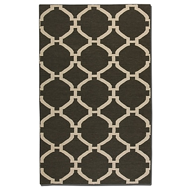 Breakwater Bay Larchwood Charcoal/Natural Area Rug