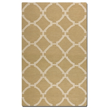 Breakwater Bay Larchwood Wheat Area Rug