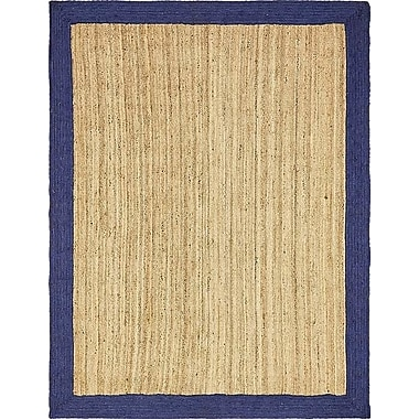 Breakwater Bay Elsmere Hand-Braided Natural Area Rug; 9' x 12'