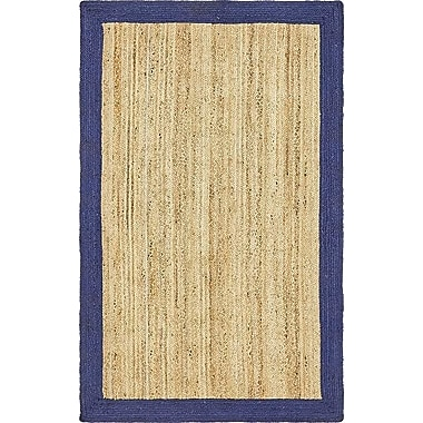 Breakwater Bay Elsmere Hand-Braided Natural Area Rug; 5' x 8'