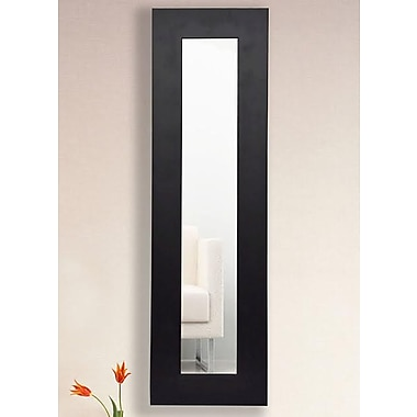 Brayden Studio Modern Rectangle Wall Mirror; 39'' H x 15'' W x 0.75'' D
