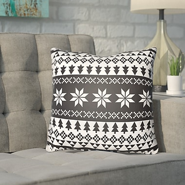 Brayden Studio Meisner Indoor/outdoor Throw Pillow; 18'' H x 18'' W x 4'' D