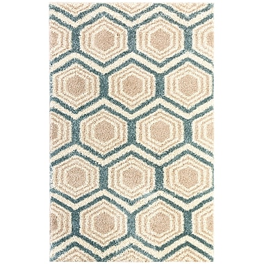 Brayden Studio Meadows Tan Area Rug; Rectangle 8' x 10'