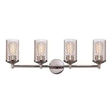 Brayden Studio Glancy 4-Light Vanity Light