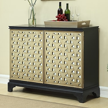 Brayden Studio Bernabe 2 Door Bar Cabinet