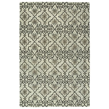 Charlton Home Fischer Hand-Tufted Mint Area Rug; 8' x 10'