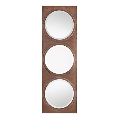 Brayden Studio Triple Round Wall Mirror