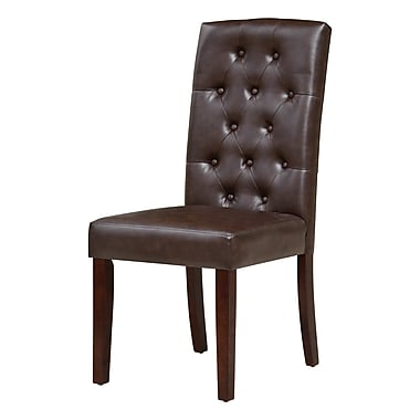 Charlton Home Borchardt Parsons Chair (Set of 2)