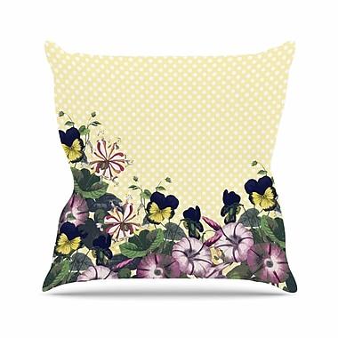East Urban Home Polka Dot Alison Coxon Throw Pillow; 20'' H x 20'' W x 4'' D