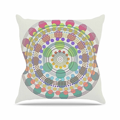 East Urban Home Mirage Angelo Carantola Throw Pillow; 18'' H x 18'' W x 4'' D