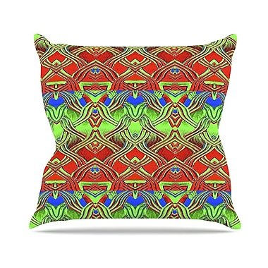 East Urban Home Mystic Flow Anne LaBrie Throw Pillow