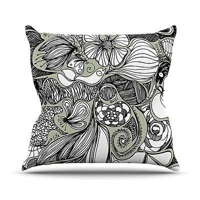 East Urban Home Doodle Dos Anchobee Throw Pillow