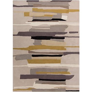Corrigan Studio Lena Hand-Tufted Gray/Neutral Area Rug