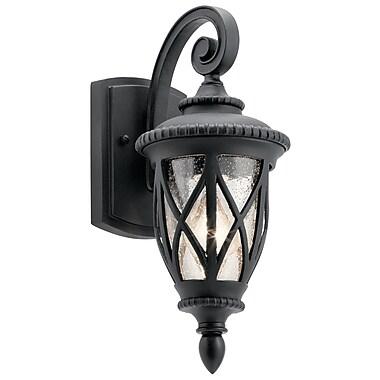 Darby Home Co Dasie 1-Light Outdoor Wall Lantern; 14.75'' H x 6.25'' W x 8.25'' D