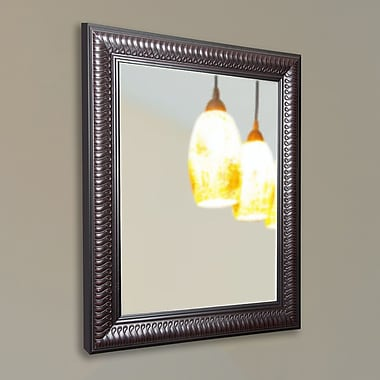 Darby Home Co Royal Curve Wall Mirror; 36'' H x 24'' W