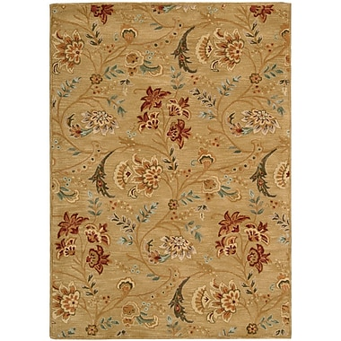 Darby Home Co Broomhedge Gold Area Rug; 7'6'' x 9'6''