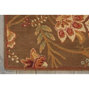 Darby Home Co Broomhedge Hand-Tufted Brown Area Rug