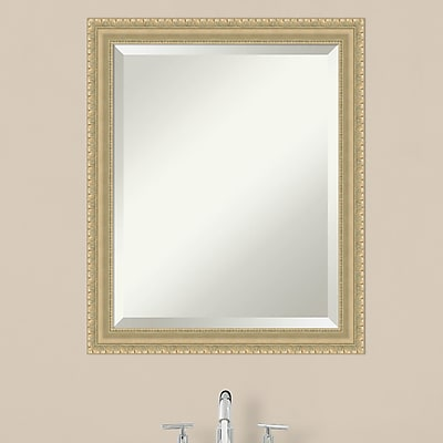 Darby Home Co Rectangle Champagne Accent Wall Mirror