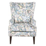 Darby Home Co Godfrey Paisley Wingback Chair