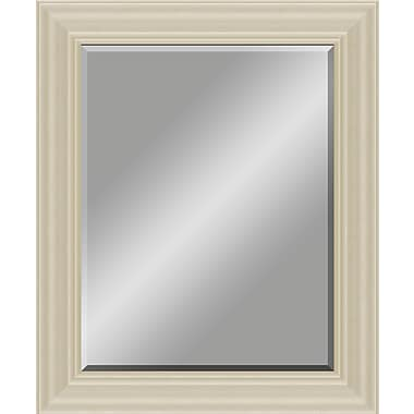 Darby Home Co Rectangular Stepped Profile Wood Framed Accent Wall Mirror