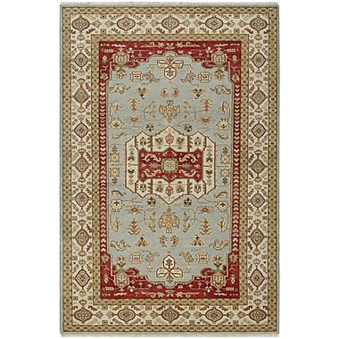 Darby Home Co Brian Opal Hand-Knotted Rust/Sage Green Area Rug; 8' x 11'3''