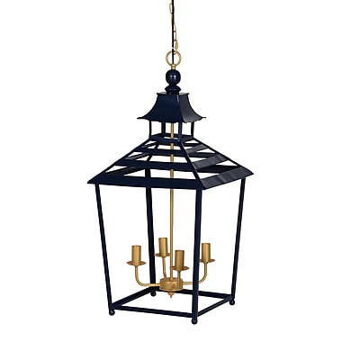 Darby Home Co Tami 4-Light Candle-Style Chandelier