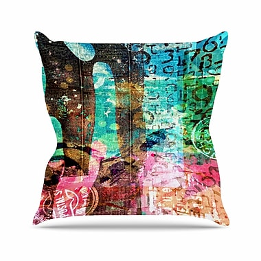 East Urban Home Abstract AlyZen Moonshadow Throw Pillow