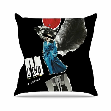 East Urban Home Cool Jina Ninjjaga Throw Pillow; 20'' H x 20'' W x 4'' D