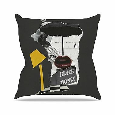 East Urban Home Lamp Jina Ninjjaga Pop Art Throw Pillow; 20'' H x 20'' W x 4'' D