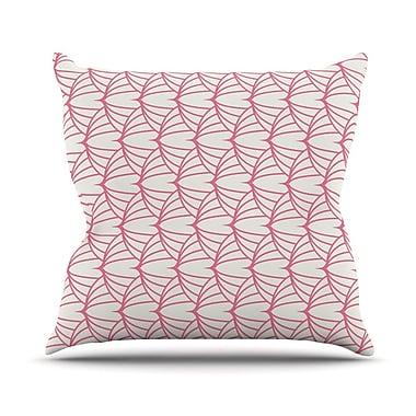 East Urban Home Stitches Throw Pillow