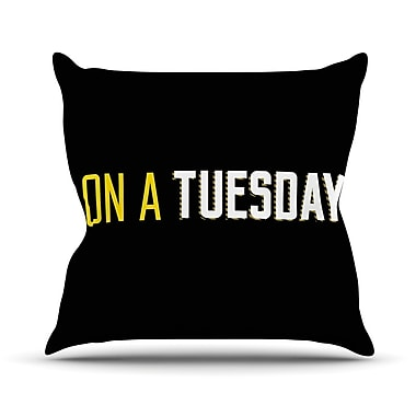 East Urban Home Tuesday Throw Pillow