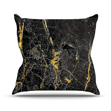 East Urban Home Fleck Marble Throw Pillow; 16'' H x 16'' W x 4'' D