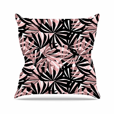 East Urban Home Palms Amy Reber Throw Pillow; 26'' H x 26'' W x 4'' D
