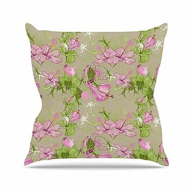 East Urban Home Romantic Alisa Drukman Throw Pillow