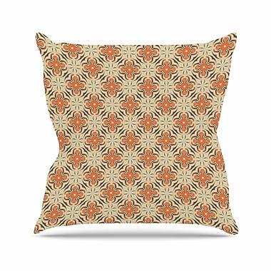 East Urban Home Geometric Tile Mayacoa Studio Throw Pillow; 16'' H x 16'' W x 4'' D
