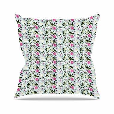 East Urban Home Romantic Park Mayacoa Studio Throw Pillow; 16'' H x 16'' W x 4'' D
