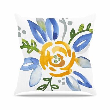 East Urban Home Buttercup Jennifer Rizzo Throw Pillow; 16'' H x 16'' W x 4'' D