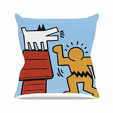 East Urban Home Hearing-Schulz Jared Yamahata Throw Pillow; 16'' H x 16'' W x 4'' D
