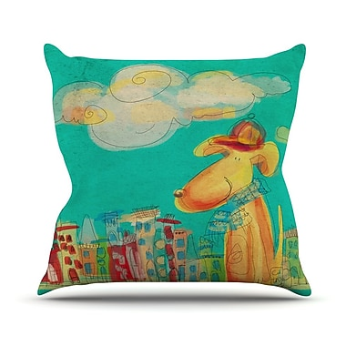East Urban Home Perrito Carina Povarchik Throw Pillow