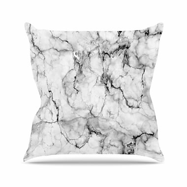 East Urban Home Marble No. 2 Chelsea Victoria Throw Pillow; 16'' H x 16'' W x 4'' D