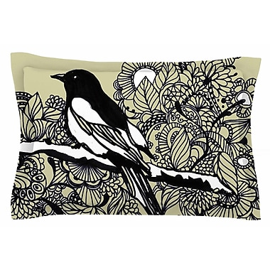 East Urban Home Magpie by Sonal Nathwani Pillow Sham; Queen