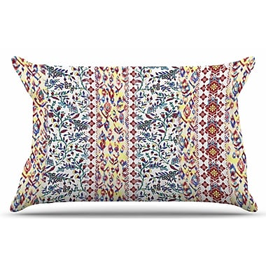 East Urban Home Arabesque Panel by Victoria Krupp Pillow Sham; King