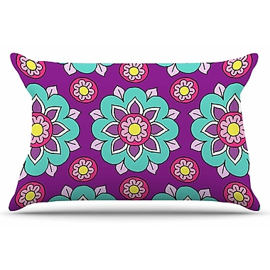 East Urban Home Bright Blossoms by Sarah Oelerich Pillow Sham; King