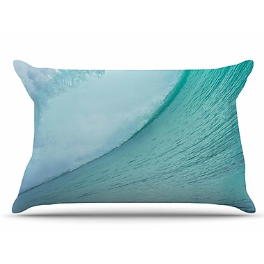 East Urban Home Ocean Wave by Susan Sanders Pillow Sham; King