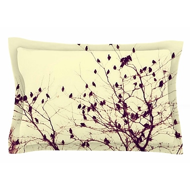 East Urban Home Darkness Into Light by Sylvia Coomes Pillow Sham; Queen