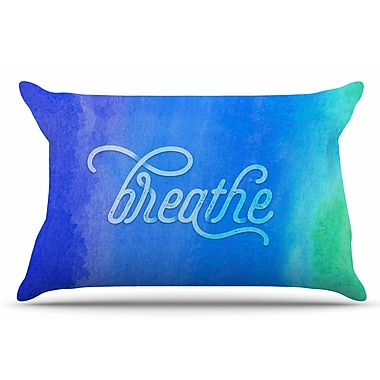 East Urban Home Breathe by Noonday Design Pillow Sham; King
