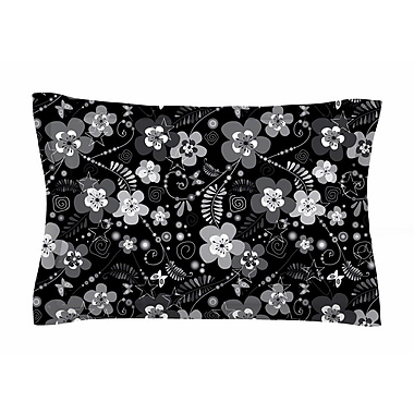 East Urban Home Diasy Daisy by Suzanne Carter Pillow Sham; Queen