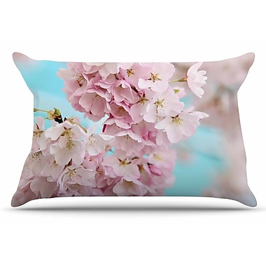 East Urban Home A Pastel Spring by Sylvia Cook Pillow Sham; King